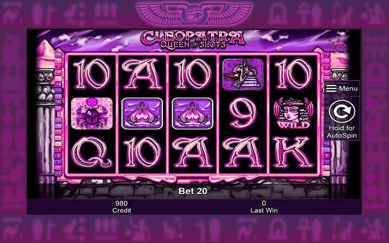 Cleopatra Queen Of Slots slots machine free