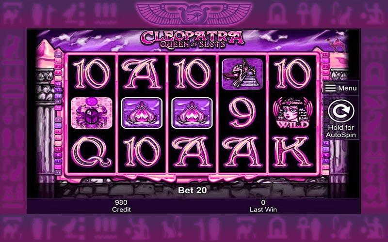 Cleopatra Queen Of Slots Machine